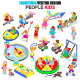 Kids People Isometric Vector Set - GraphicRiver Item for Sale