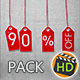 Sale Up To 90 Percent Off Pack - VideoHive Item for Sale