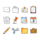 Office Icons Fresh Collection - Set 1 - GraphicRiver Item for Sale