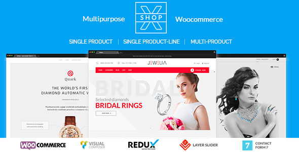 XSHOP | Multipurpose WooCommerce Theme
