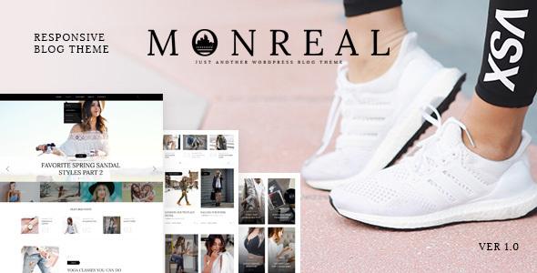 Monreal — Responsive Blog WordPress Theme