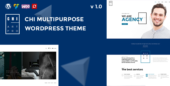 CHI - Creative Multipurpose WordPress Theme