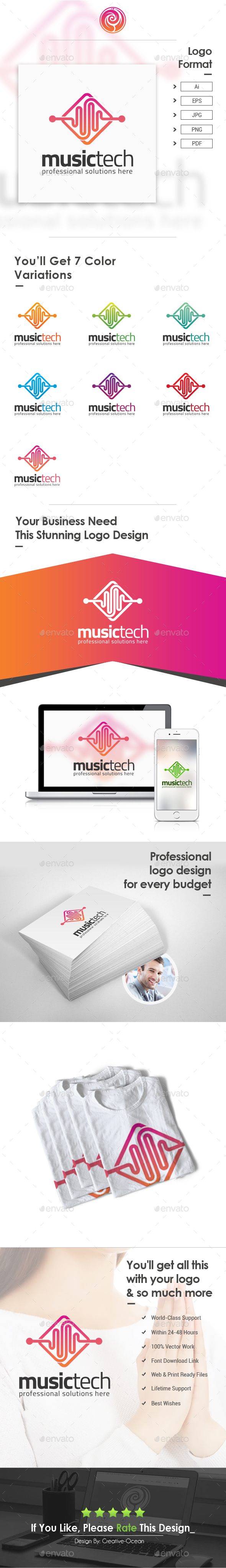 Music Tech Logo