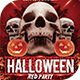 Halloween Red Flyer Template - GraphicRiver Item for Sale