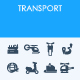 Transport icons - GraphicRiver Item for Sale