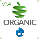 Organic Food - Responsive Drupal Theme - ThemeForest Item for Sale