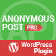 AccessPress Anonymous Post Pro