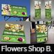 Flowers Shop Service Advertising Bundle