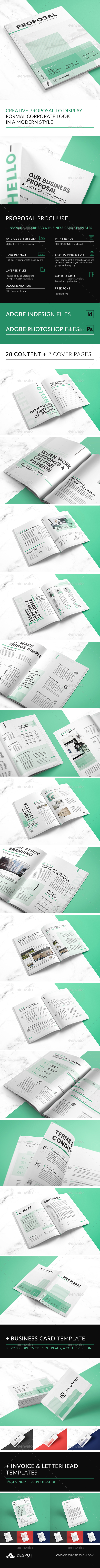 The Brand Proposal - Proposals & Invoices Stationery