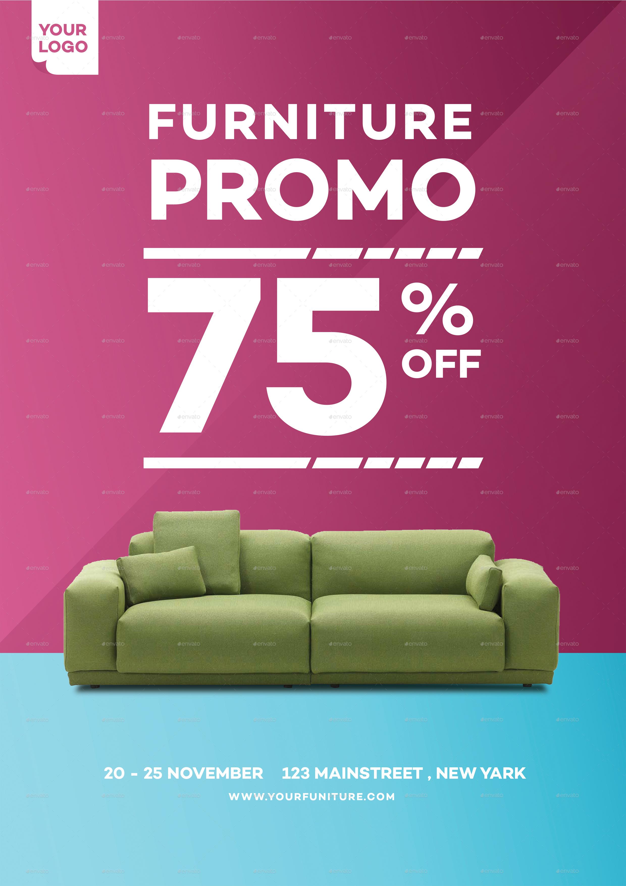 home furniture promo flyer by tokosatsu