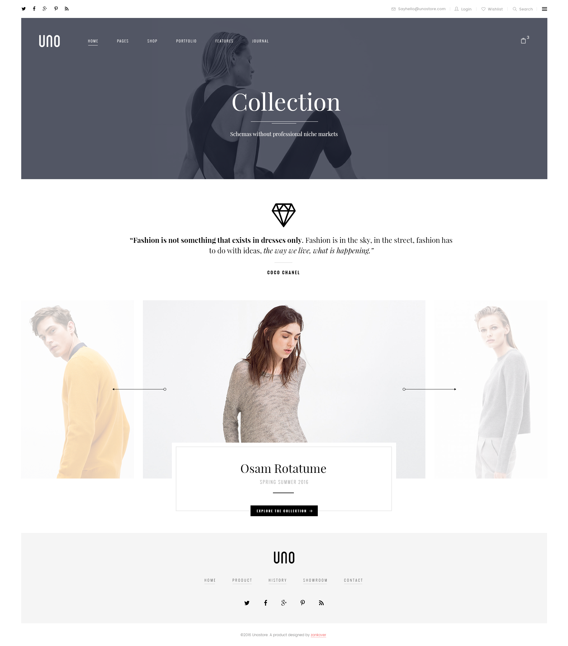 UNO - A Multipurpose Shop PSD Template