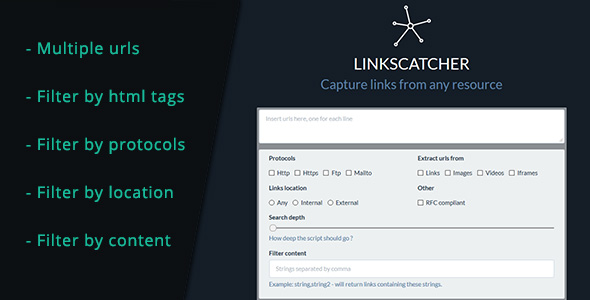 LinksCatcher - Capture links from any web resource - CodeCanyon Item for Sale