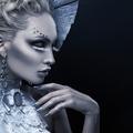 Closeup portrait of winter queen - PhotoDune Item for Sale