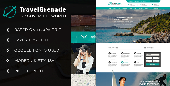 TravelGrenade-Theme for Travel