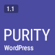 Purity - A Responsive WordPress Blog Theme