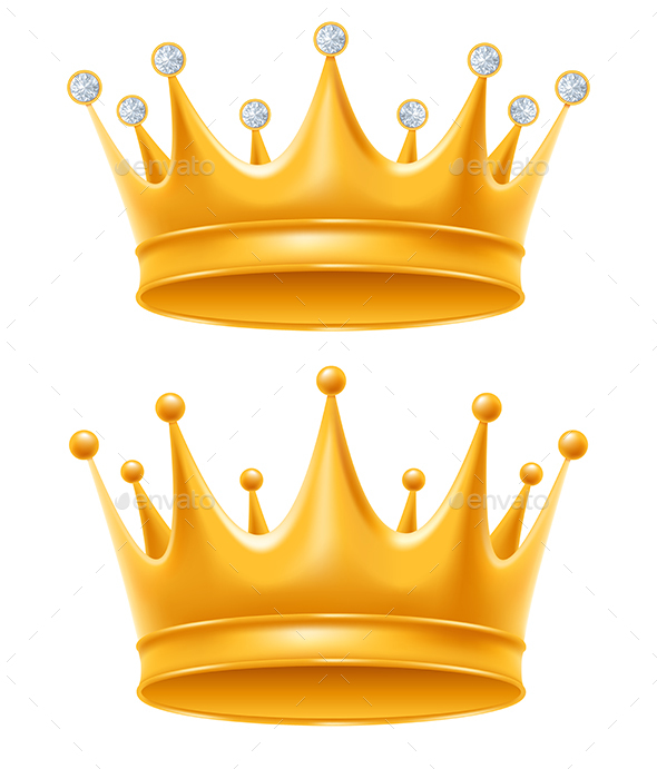 Golden Crown By Maripazhyna Graphicriver