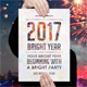 Bright Year Party Poster Flyer Template - GraphicRiver Item for Sale