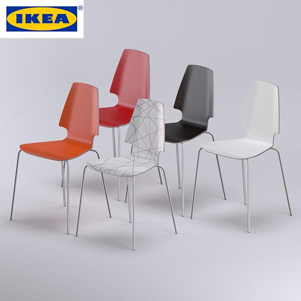 Vilmar chair IKEA - 3DOcean Item for Sale