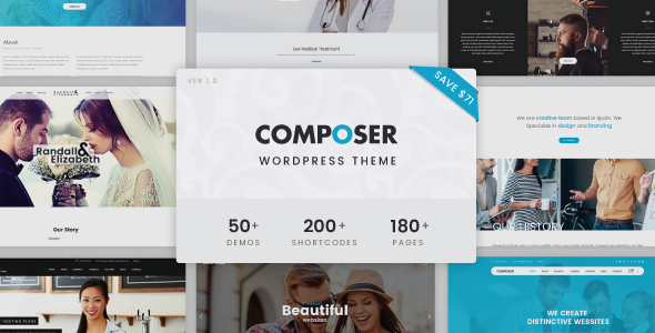 Composer – Responsive Multi-Purpose High-Performance WordPress Theme