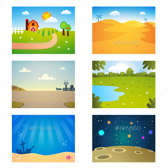 Game Backgrounds - Backgrounds Decorative