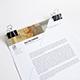 Minimal Letterhead - GraphicRiver Item for Sale