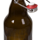 Empty glass bottle with the open cap hold isolated - PhotoDune Item for Sale