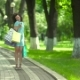 Young Woman Holding Shopping Bags. - VideoHive Item for Sale