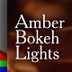Bokeh Lights Amber Backgrounds - VideoHive Item for Sale