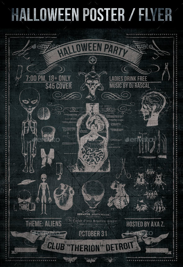 Halloween Poster or Flyer - Holidays Events