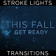 Title Text Stroke Particles Lights Transitions 7 Pack - VideoHive Item for Sale
