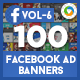 Facebook AD Banners Vol-6 - 50 Designs - GraphicRiver Item for Sale