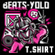 Beats-Yolo T-Shirt Design-Graphicriver中文最全的素材分享平台