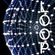 Vj Loop Rotating Dots Sphere - VideoHive Item for Sale