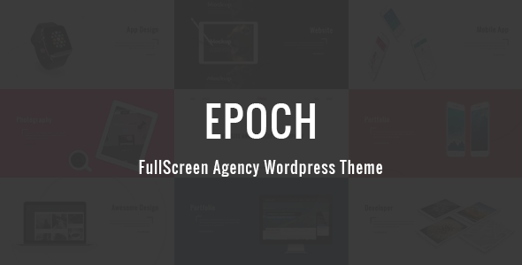Epoch – FullScreen Agency WordPress Theme