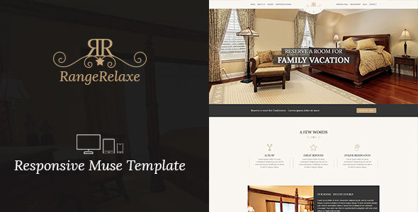 Rangerelaxe Hotel Resort Responsive Muse Template By Dev Themes