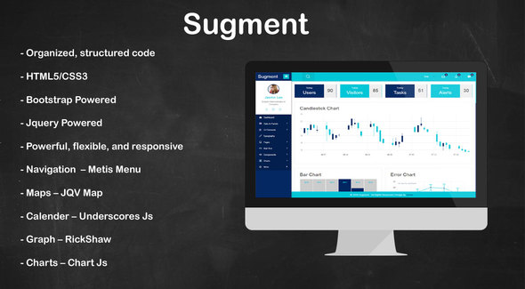 Sugment - Innovative Admin Panel