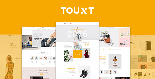 Touxt – Commerce Drupal 8 Theme