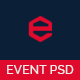 EVENT - Conference and Event PSD Template - ThemeForest Item for Sale