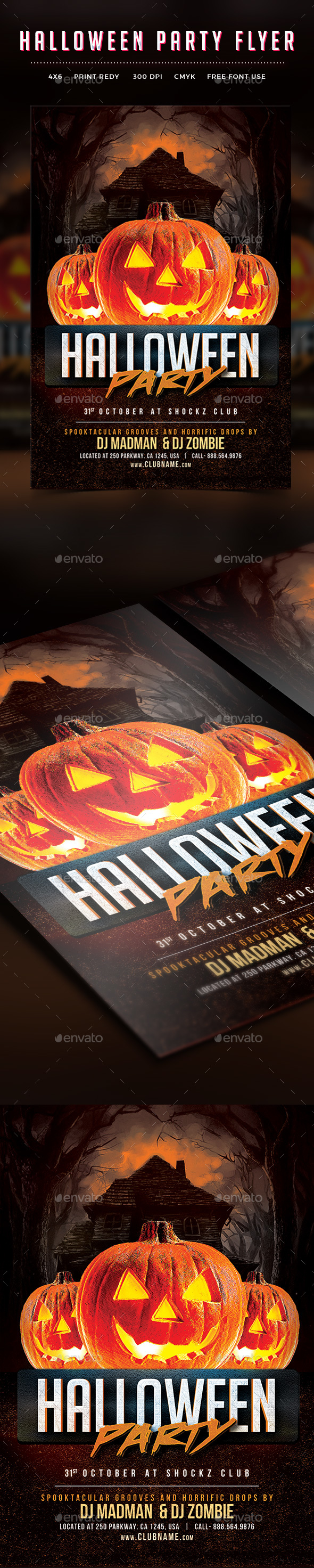 Halloween Flyer By Themedevisers Graphicriver