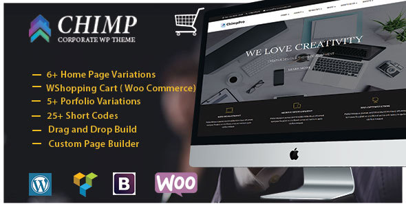 Chimp – Multipurpose Business – Agency – Corporate WordPress Theme