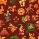 Maya Seamless Pattern