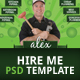 CV Ideas Hire Me Flyer - GraphicRiver Item for Sale