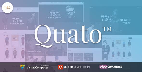 Quato - Responsive WooCommerce WordPress Theme