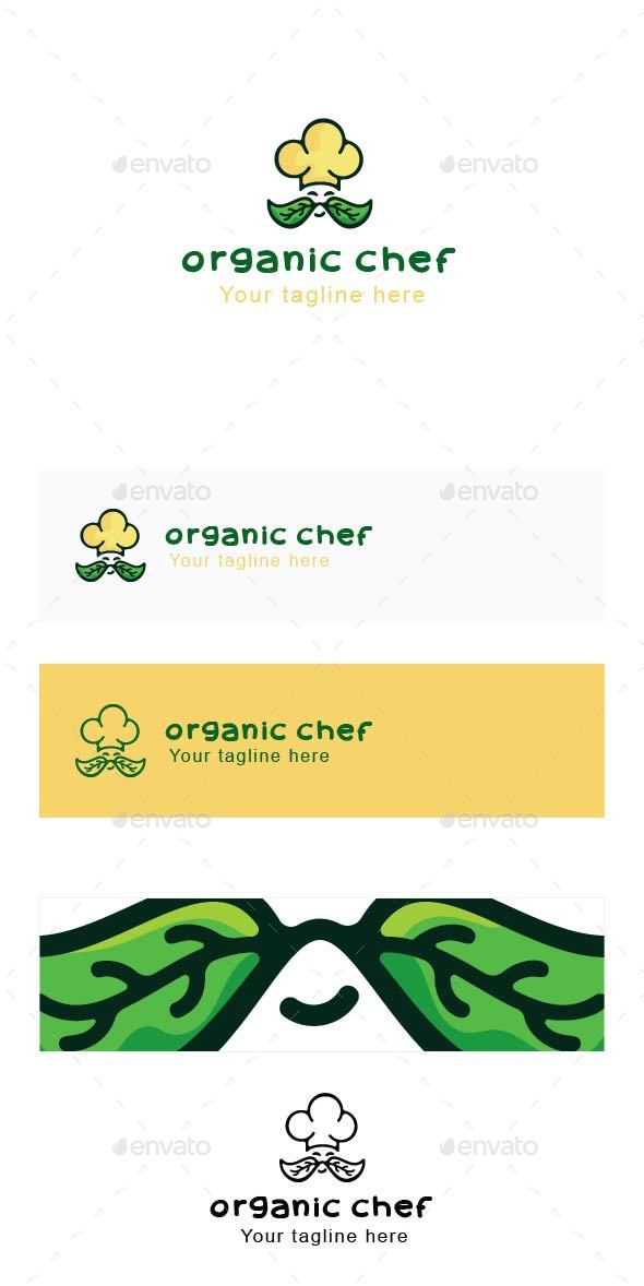 Organic Chef - Professional Cook Stock Logo Template - Abstract Logo Templates