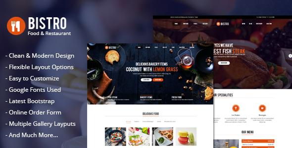 Bistro – Food & Restaurant
