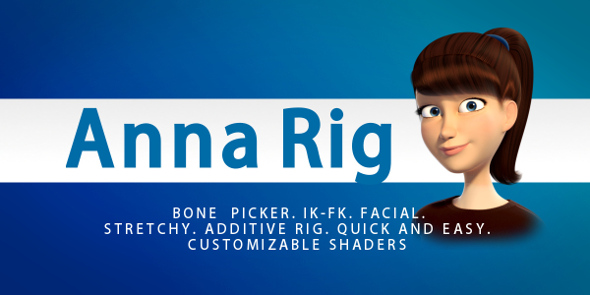 Anna Rig - 3DOcean Item for Sale
