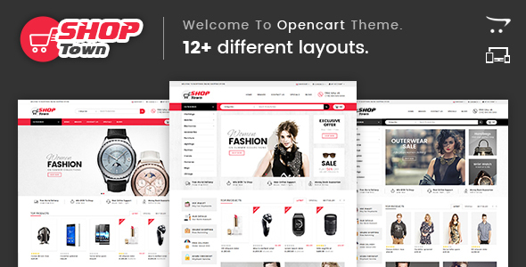 Shop Town - Multipurpose OpenCart Theme - Shopping OpenCart