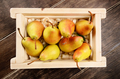 Wooden crate with pears - PhotoDune Item for Sale