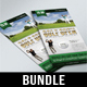 3 in 1 Golf Club DL Flyer Bundle V1