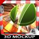 All-time 3D Logo Mockup